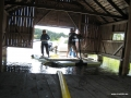 Dredging in boathouse