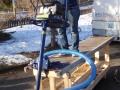 The dredging pump